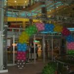 Balon Süsleme - Ayaklı Tak , Çok Renkli
