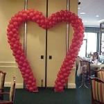 Balon Süsleme - Kalp Balon