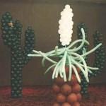 Balon Süsleme - Kaktüs Balon