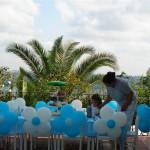 Balon Süsleme - Papatya Balon