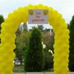 Balon Süsleme - Ayaklı Tak - Fotoblok Uygulamalı