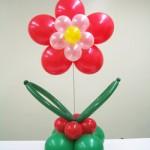 Balon Süsleme - Ayaklı Papatya