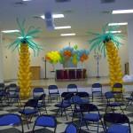 Balon Süsleme - Palmiye Balon