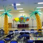 Balon Süsleme - Palmiye Ağaç