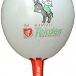 4 renk logo baskılı balon