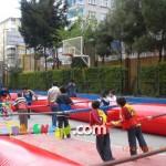 Şişme Oyun Parkı - Canlı Langırt