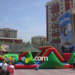 Şişme Oyun Parkı - Engelli Şişme Parkur