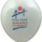 Çift renk logo baskılı balon
