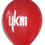 Tek renk logo baskılı balon