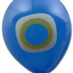 Nazar Boncuğu Baskılı Balon