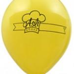 Tek renk baskılı balon