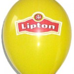2 Renk Logo Baskılı Balon