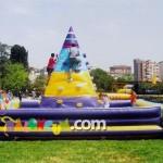 Şişme Oyun Parkı - Tırmanma Piramdi