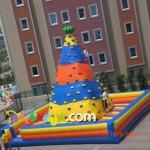 Şişme Oyun Parkı - Tırmanma Piramidi