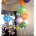 Doğum Günü Uçan Balon Demeti