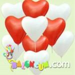 Uçan Balon - Kalp Balonlar