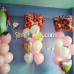 Uçan Balon - Kelebek Folyo