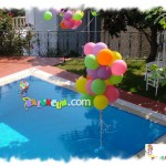 Uçan Balon - Havuz Süsleme