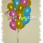 Uçan Balon - Metalik Renkler