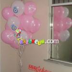 Nazar Boncuğu Baskılı Uçan Balon Demeti