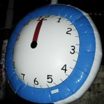Yer Balonu - Özel Şekilli Saat